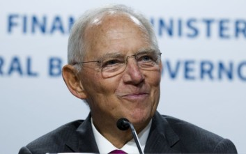 Germany Finance Minister Wolfgang Schäuble speaks during a news conference, after the G20 finance ministers and central bank governors meeting, on the sidelines of the World Bank/IMF Annual Meetings in Washington, Friday, Oct. 13, 2017. ( AP Photo/Jose Luis Magana)