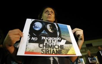 «Οι δυνάμεις του Άσαντ πίσω από την επίθεση με αέριο σαρίν στο Χαν Σεϊχούν»