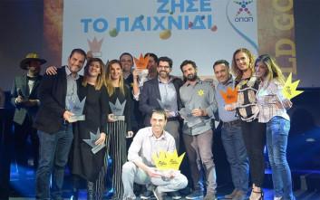 Ο ΟΠΑΠ «σάρωσε» για μια ακόμη φορά τα Social Media Awards