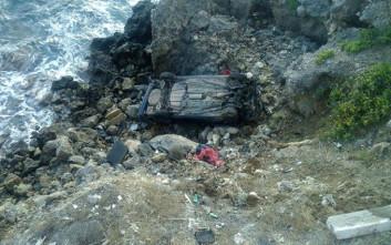 Αυτοκίνητο στην Κίσαμο Χανίων έπεσε σε γκρεμό