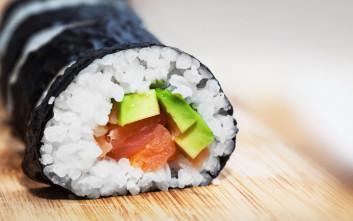 Σπιτικό maki sushi