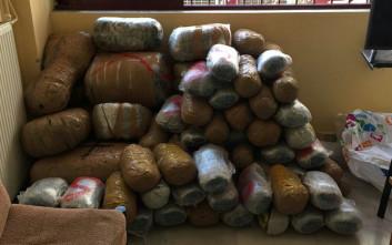 Κατασχέθηκαν 163 κιλά ινδικής κάνναβης στην Ιόνια Οδό
