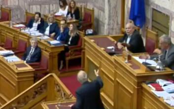 Άγρια κόντρα Λεβέντη - Βούτση στη Βουλή για τα «ανώμαλα πράγματα»