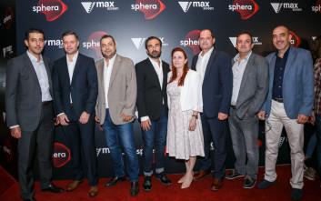 Πρώτη παρουσίαση της αίθουσας «Vmax Sphera» στα Village Cinemas στο The Mall Athens