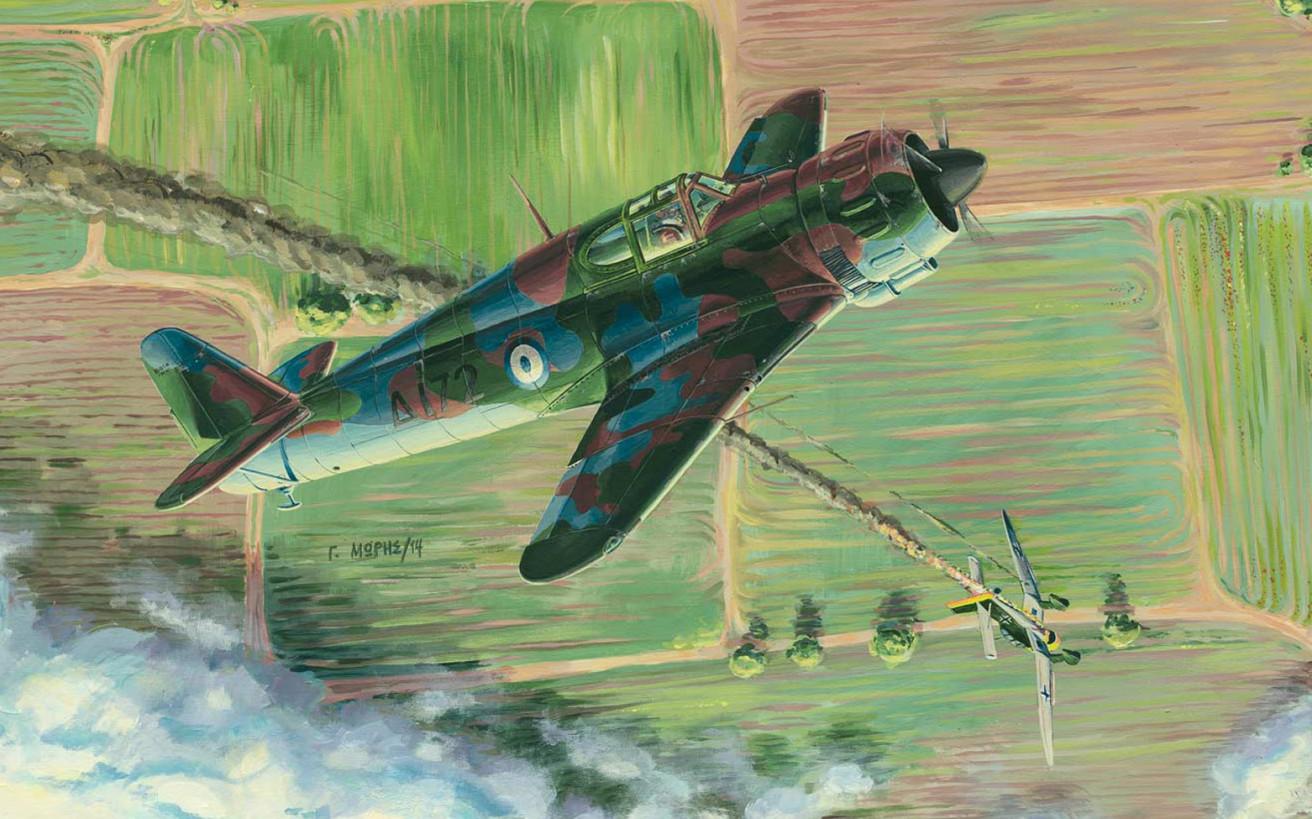 Τα κατορθώματα των Ελλήνων πιλότων στις αερομαχίες του 1940