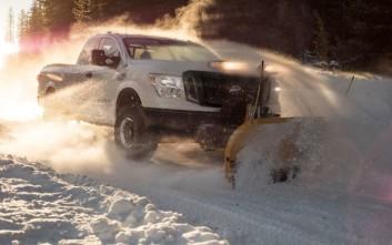 Το Titan XD αντιμέτωπο με τα χιόνια