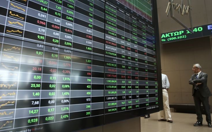 Άνοδος στο Χρηματιστήριο, σε χαμηλά επίπεδα ο τζίρος