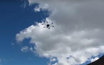 Drone πέταξε σχεδόν στα 5 χιλιόμετρα ύψος και έκανε ρεκόρ