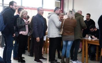Ο Σταύρος Θεοδωράκης ψήφισε στη γειτονιά που μεγάλωσε