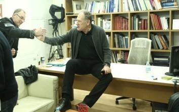 Με πουράκι γιόρτασε τη νίκη Γεννηματά ο Κώστας Λαλιώτης