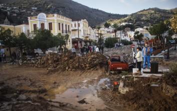 Τα μέτρα στήριξης των κατοίκων της Σύμης για τις καταστροφές