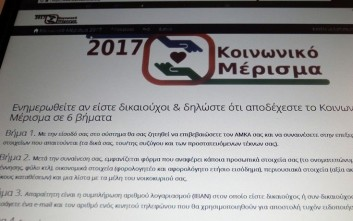 ΚΟΙΝΩΝΙΚΟ ΜΕΡΙΣΜΑ