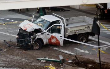Θάνατο και τρόμο σκόρπισε το τρομοκρατικό χτύπημα με φορτηγάκι στο Μανχάταν