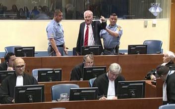 Ένοχος για γενοκτονία και εγκλήματα κατά της ανθρωπότητας ο Ράτκο Μλάντιτς