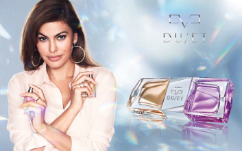 Η γοητευτική ηθοποιός Eva Mendes προτείνει το νέο διπλό άρωμα Eve Duet της Avon