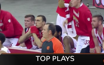 Το σόου του Ολυμπιακού στα καλύτερα της Euroleague