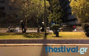 Επίθεση με μολότοφ σε λεωφορείο των ΜΑΤ στη Θεσσαλονίκη