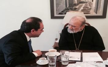 Ο Αρχιεπίσκοπος Αυστραλίας στο πλευρό της «Αποστολής»