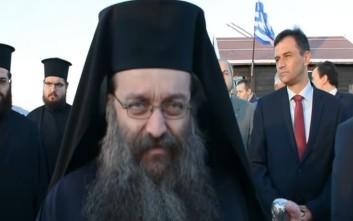 Ο Μητροπολίτης Χίου στέλνει μήνυμα στην Τουρκία με μία μαντινάδα