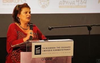 Το υπουργείο Πολιτισμού παύει την Ηλέκτρα Βενάκη από το Κέντρο Κινηματογράφου