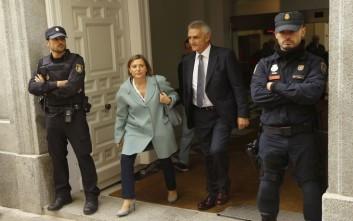 Με εγγύηση 150.000 ευρώ αποφυλακίζεται η πρόεδρος του κοινοβουλίου της Καταλονίας