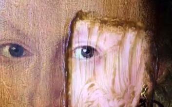 Δείτε έναν πίνακα να αναδύεται από βρομιά 200 ετών σε μερικά δευτερόλεπτα