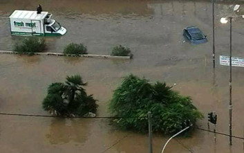 Πλημμυρικά φαινόμενα στο δήμο Σοφάδων στην Καρδίτσα