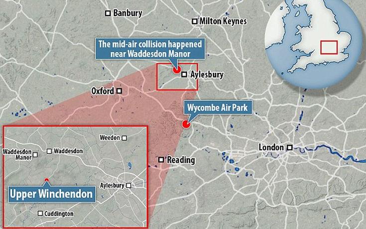 Σύγκρουση στον αέρα ελικοπτέρου με αεροσκάφος στην Αγγλία – Τέσσερις νεκροί