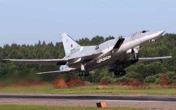 Ρωσικά στρατηγικά βομβαρδιστικά έπληξαν στόχους του ISIS στη Συρία