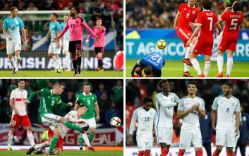Από την απόβαση των Βρετανών στο Euro 2016 στην εκκωφαντική απουσία από το Μουντιάλ