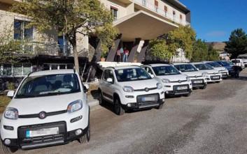 Η περιφέρεια Στερεάς Ελλάδας παρέλαβε 42 νέα αυτοκίνητα
