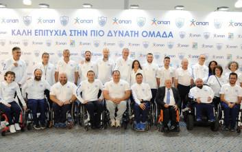 O ΟΠΑΠ ευχήθηκε «καλή επιτυχία» στην ελληνική παραολυμπιακή ομάδα