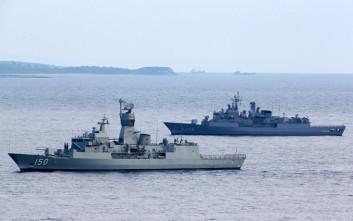 Η κατάσταση γύρω από τα Ίμια και ο αποβατικός στόλος των Τούρκων κοντά στη Χίο