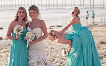 Αστείες στιγμές σε γάμους