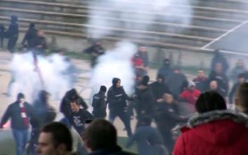 Ξύλο μεταξύ οπαδών σε αγώνα του βουλγαρικού πρωταθλήματος