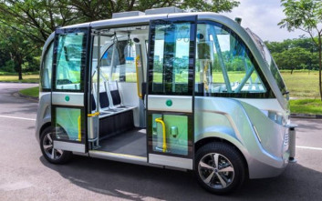 Λεωφορεία χωρίς οδηγούς φέρνει στους δρόμους της η Σιγκαπούρη
