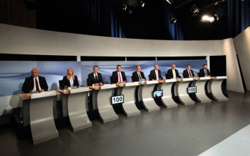 «Όχι» στην απλή αναλογική από τον Ανδρουλάκη στην τηλεμαχία για την ηγεσία της Κεντροαριστεράς