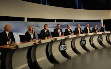 Ολοκληρώθηκε και η δεύτερη τηλεμαχία για την ηγεσία της Κεντροαριστεράς