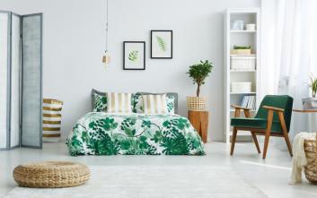 Δέκα χρώματα για το υπνοδωμάτιο και η εξήγησή τους