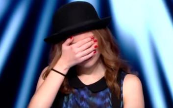 Τα «έχασε» στη σκηνή του The Voice