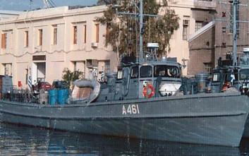 Προσάραξε σκάφος του Πολεμικού Ναυτικού κοντά στον Πόρο