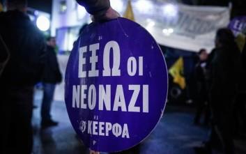 Αντιφασιστική πορεία στο Νέο Ηράκλειο