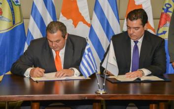 Αθήνα και Λευκωσία συνεχίζουν στη δημιουργία αξόνων στην περιοχή