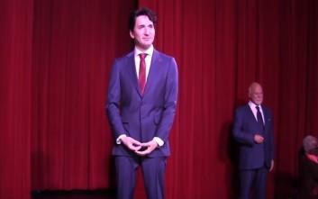 Ο Καναδός πρωθυπουργός έγινε κέρινο ομοίωμα