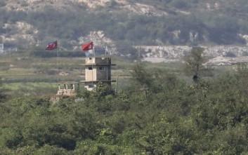Συνελήφθη Βορειοκορεάτης στρατιώτης που πέρασε την αποστρατιωτικοποιημένη ζώνη