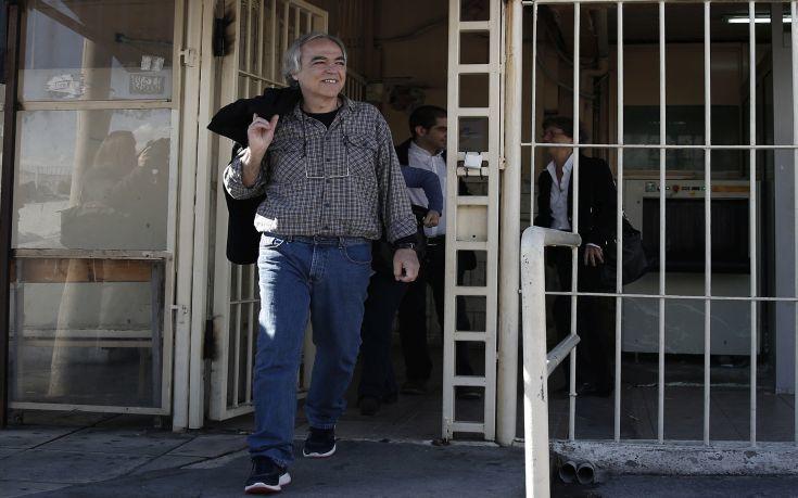 Βγήκε με άδεια από τη φυλακή ο Κουφοντίνας