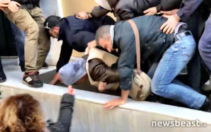 Βίντεο από την επίθεση στον δολοφόνο της Δώρας Ζέμπερη