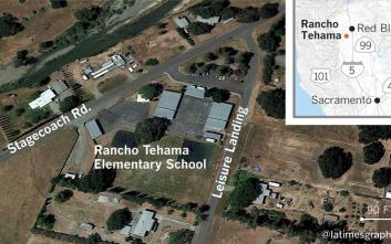 Ανεβαίνει ο αριθμός των νεκρών από την επίθεση σε σχολείο στη βόρεια Καλιφόρνια