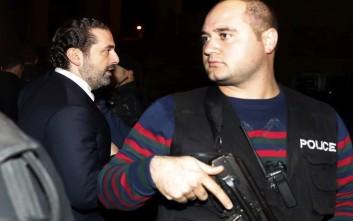 Επέστρεψε στον Λίβανο για πρώτη φορά μετά την παραίτησή του ο Σαάντ Χαρίρι