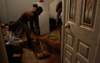 Για πλιάτσικο στη Μάνδρα συνελήφθησαν 4 άτομα